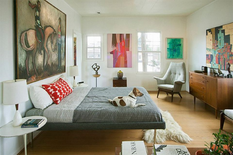 Mid Century Modern Bedroom Decorating Ideas