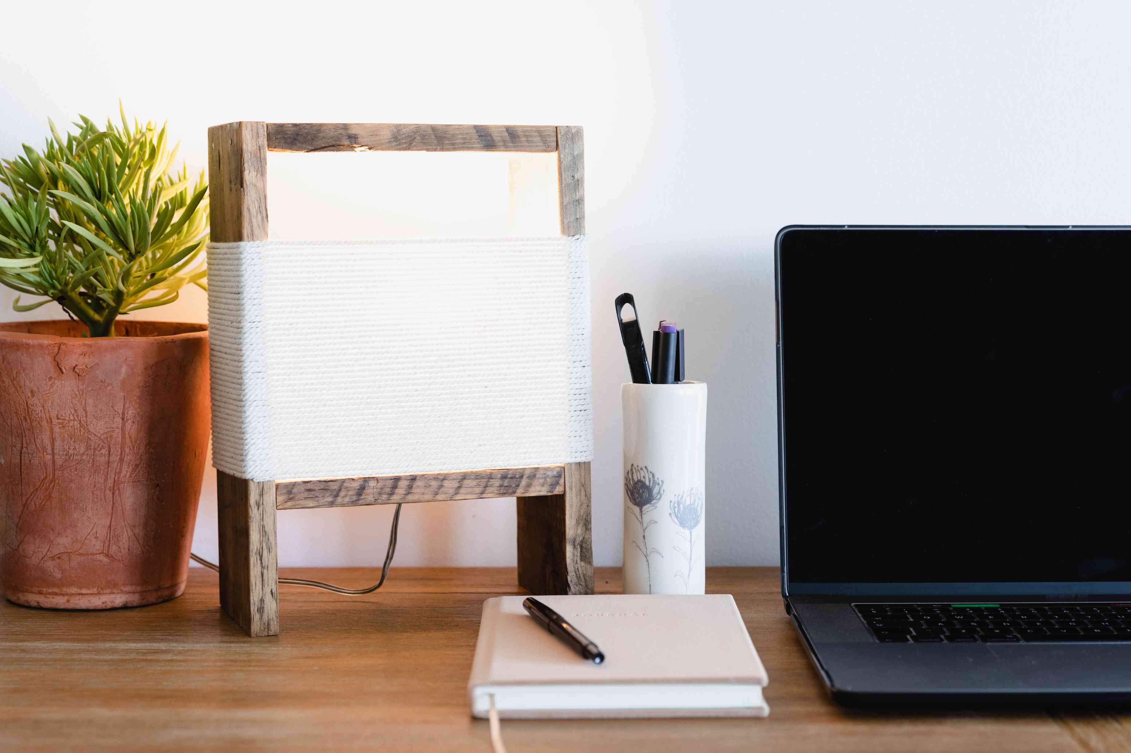 decorative office lamp