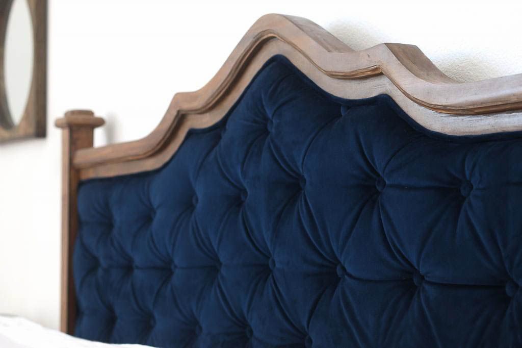 Upcycled-headboard-tufted-project