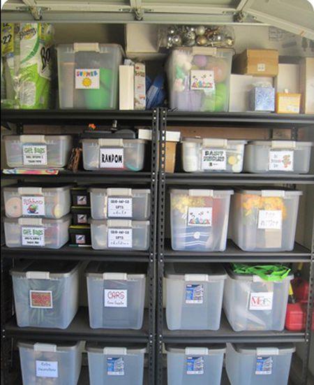 garage shelving system - Garage Shelving Ideas