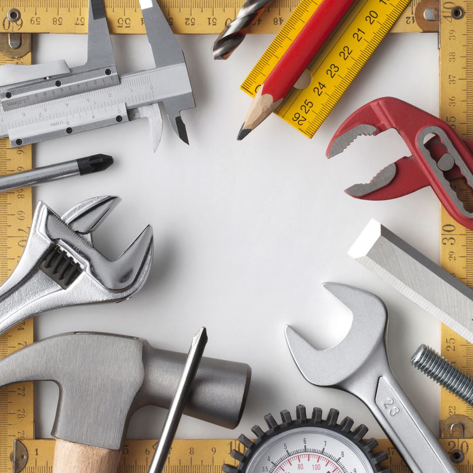 A large selection of tools