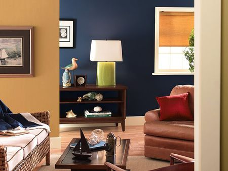Family Room Paint Design