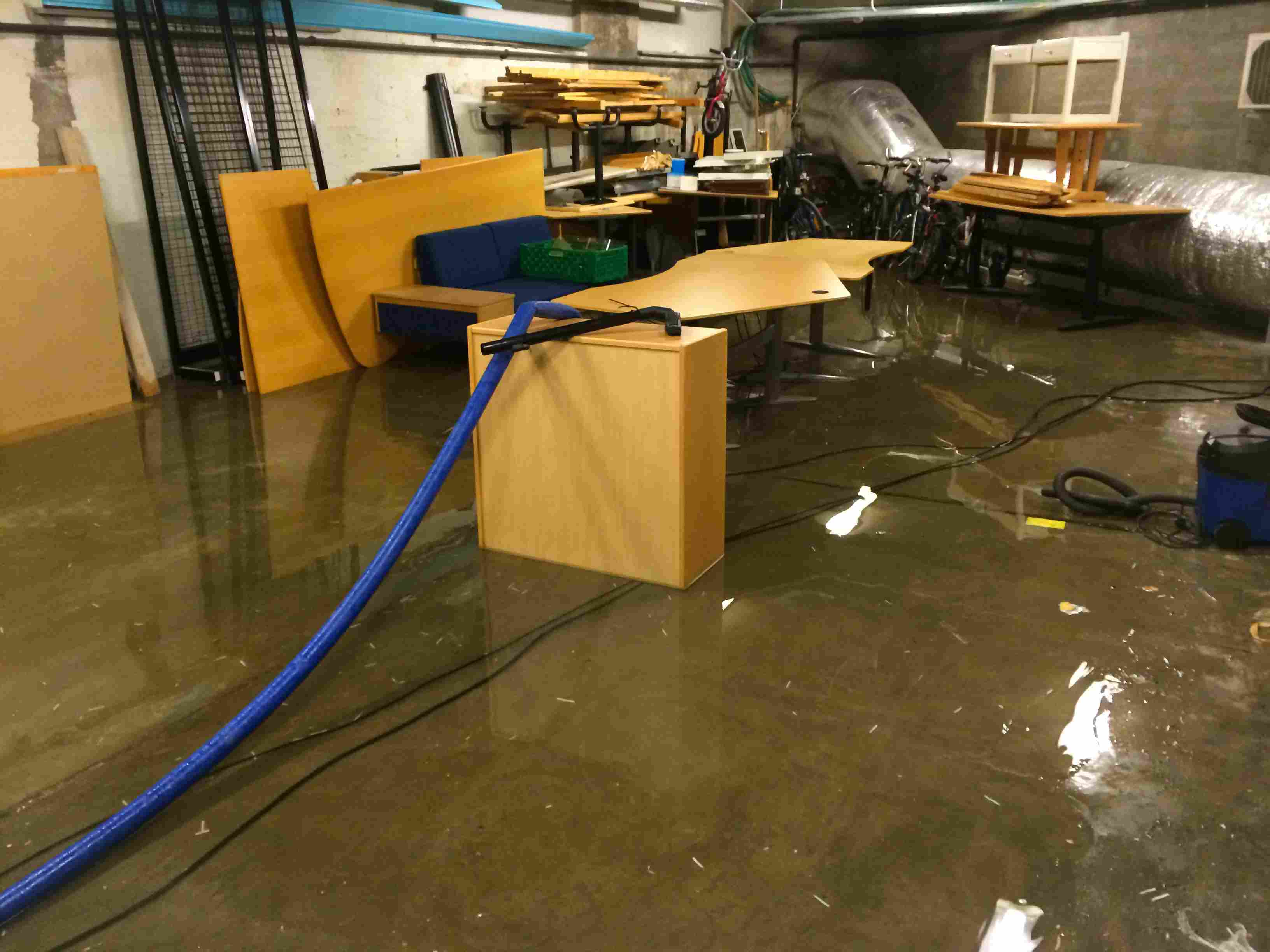 Common Causes and Solutions for a Wet Basement