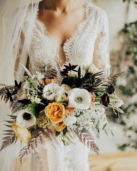 Fall Wedding Bouquets.15 Fall Wedding Bouquets