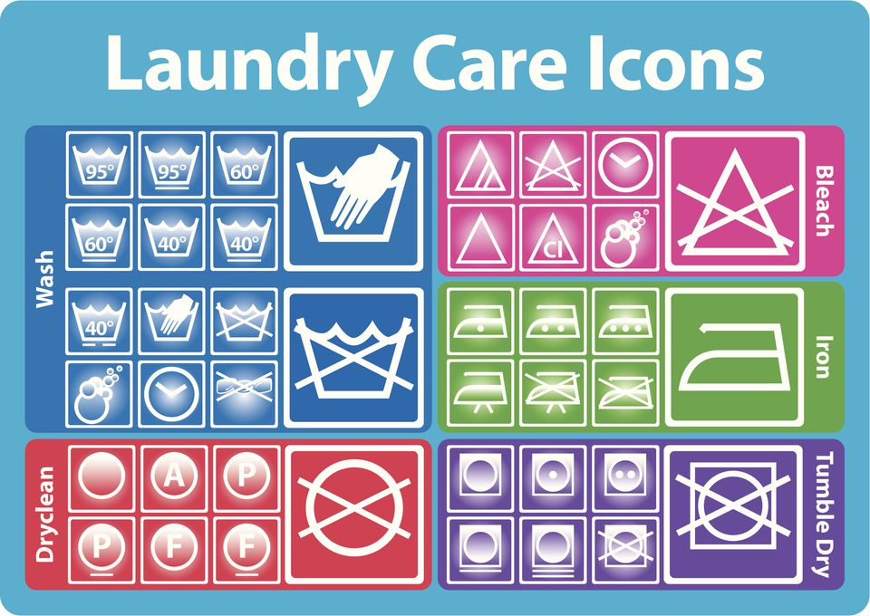 How to Read Clothing Care Labels