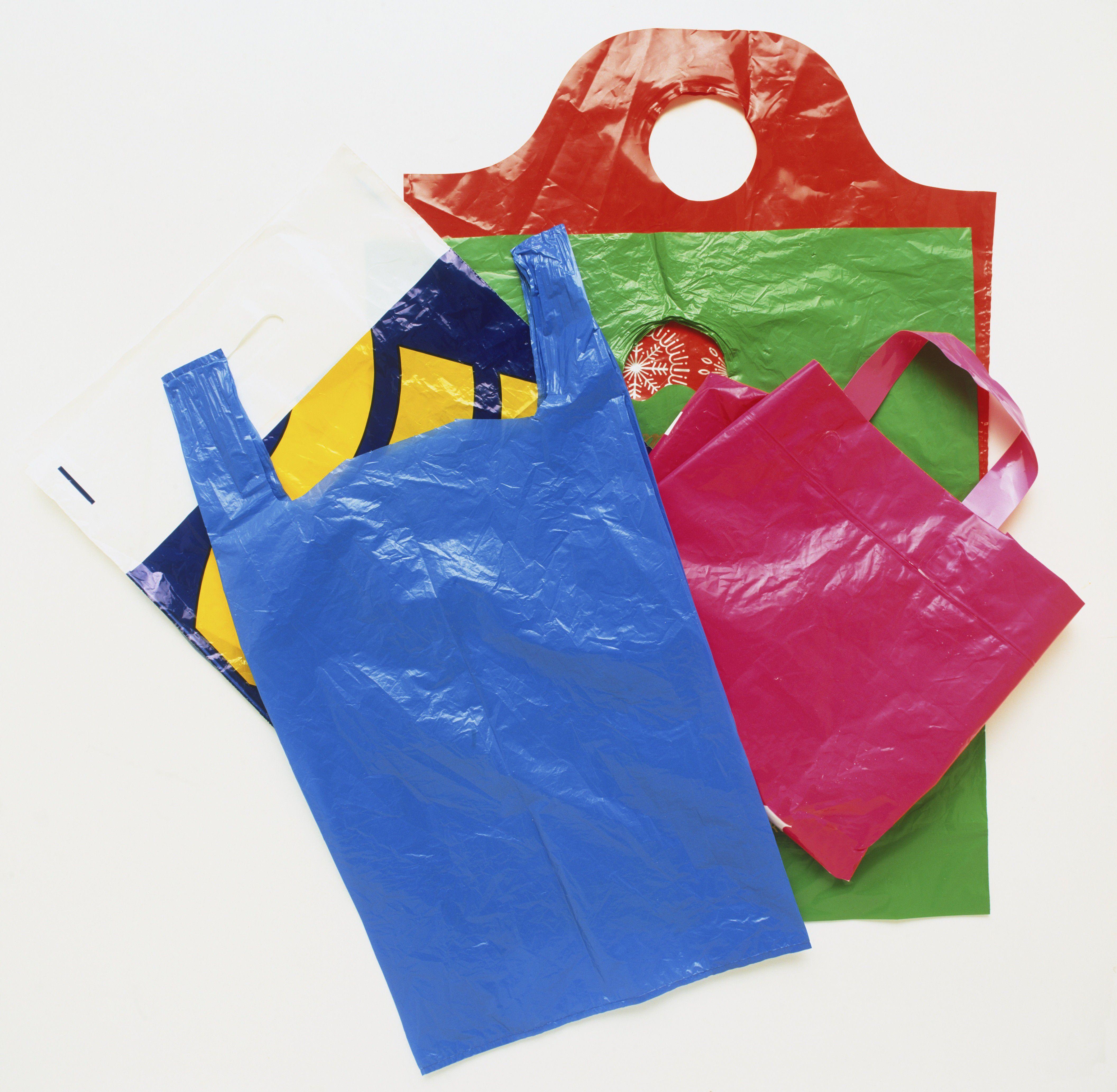 Plastic bag reuse ideas.