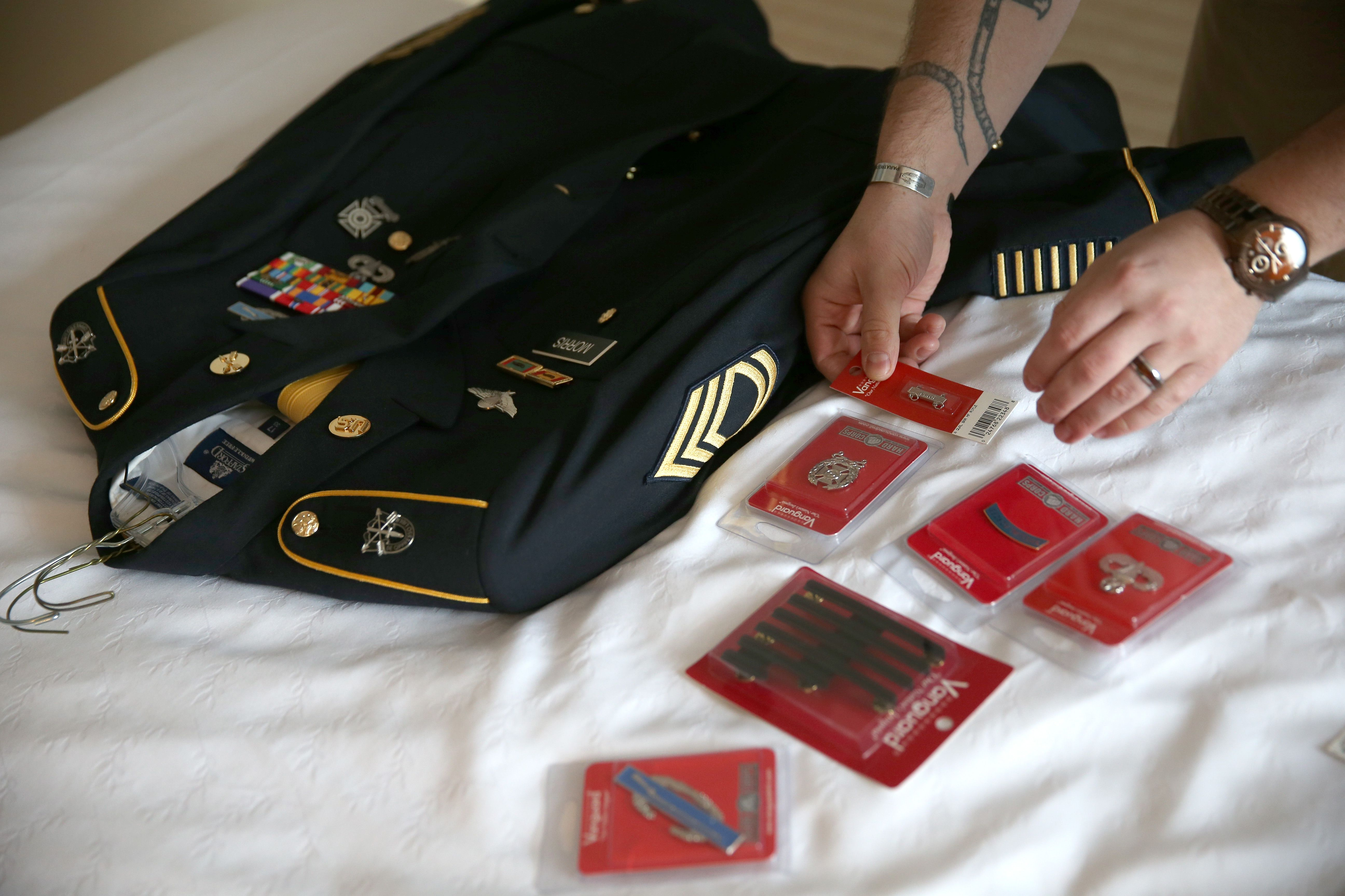 How To Preserve And Store Military Uniforms