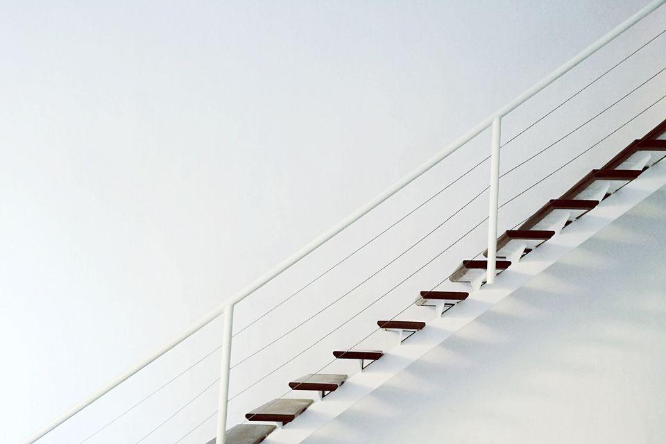 Perfil lateral de escalera