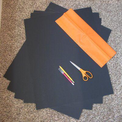 Una imagen de los suministros de artesanía