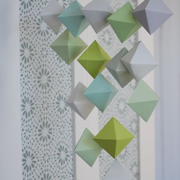 Paper Polyhedron Mobile
