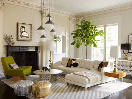 . 15 Beautiful Living Room Lighting Ideas