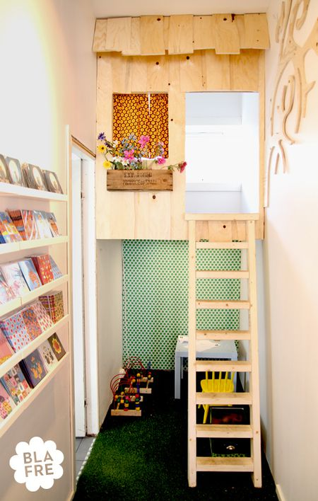 12 Ideas For Creative Reading Spaces For Kids