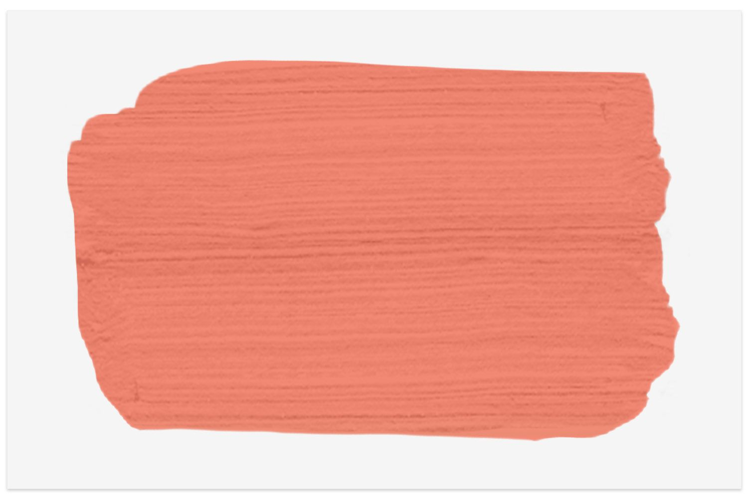 Coral Passion paint swatch from Valspar