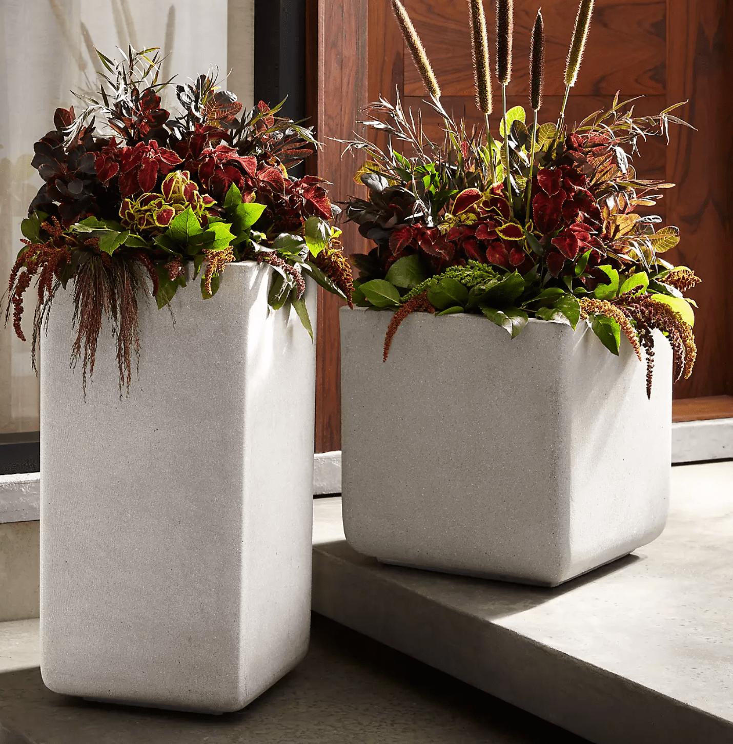 square-planters