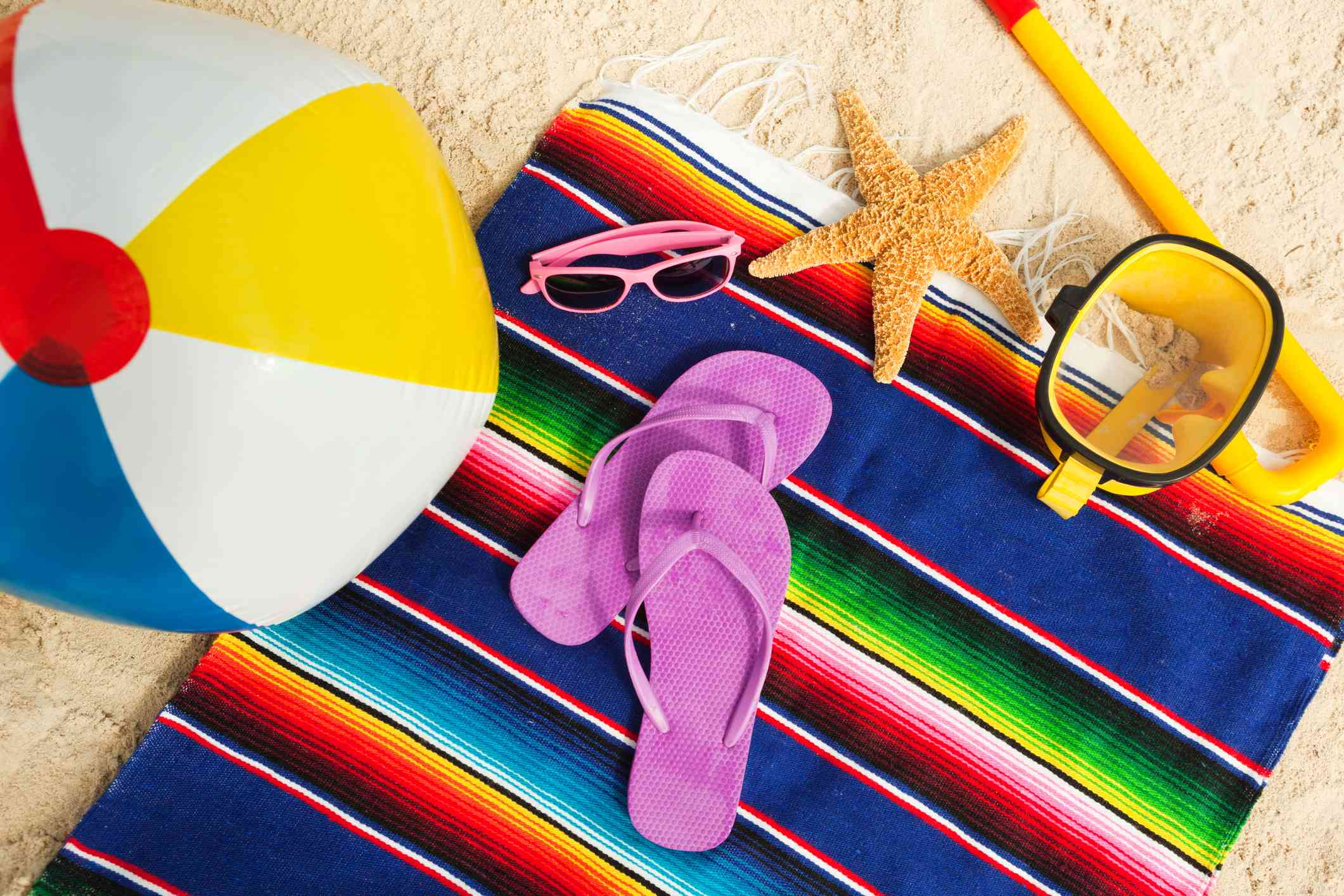 Beach Gear and Necessities for a Vacation