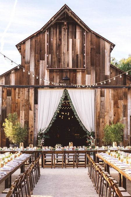 21 barn wedding ideas for your big day greengate ranch vineyard via pinterest junglespirit Choice Image