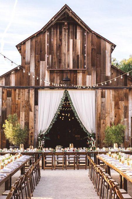 21 Barn Wedding Ideas For Your Big Day