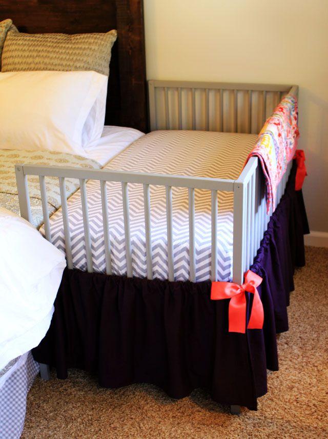 Snigler crib Ikea hack cosleeper
