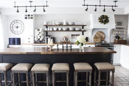 Fabulous Gorgeous Modern Farmhouse Kitchens Download Free Architecture Designs Scobabritishbridgeorg