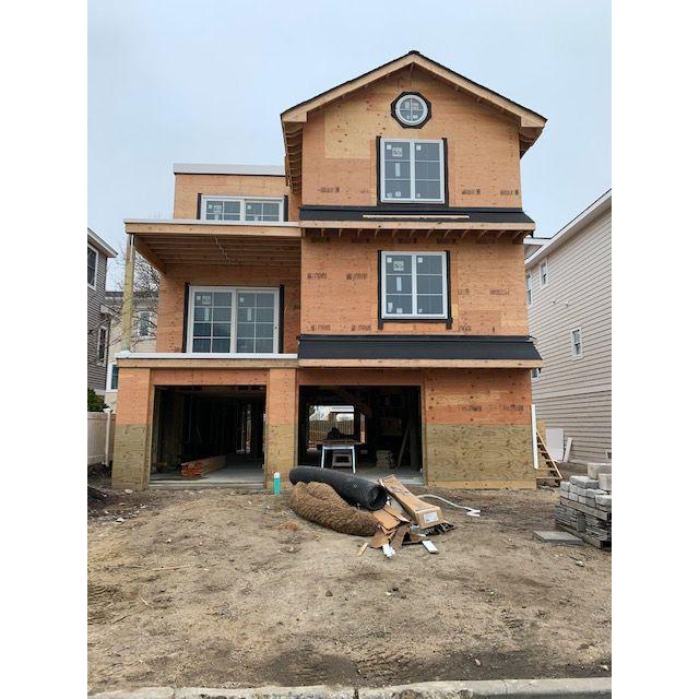 Karen B. Wolfe's Long Beach Island home under construction