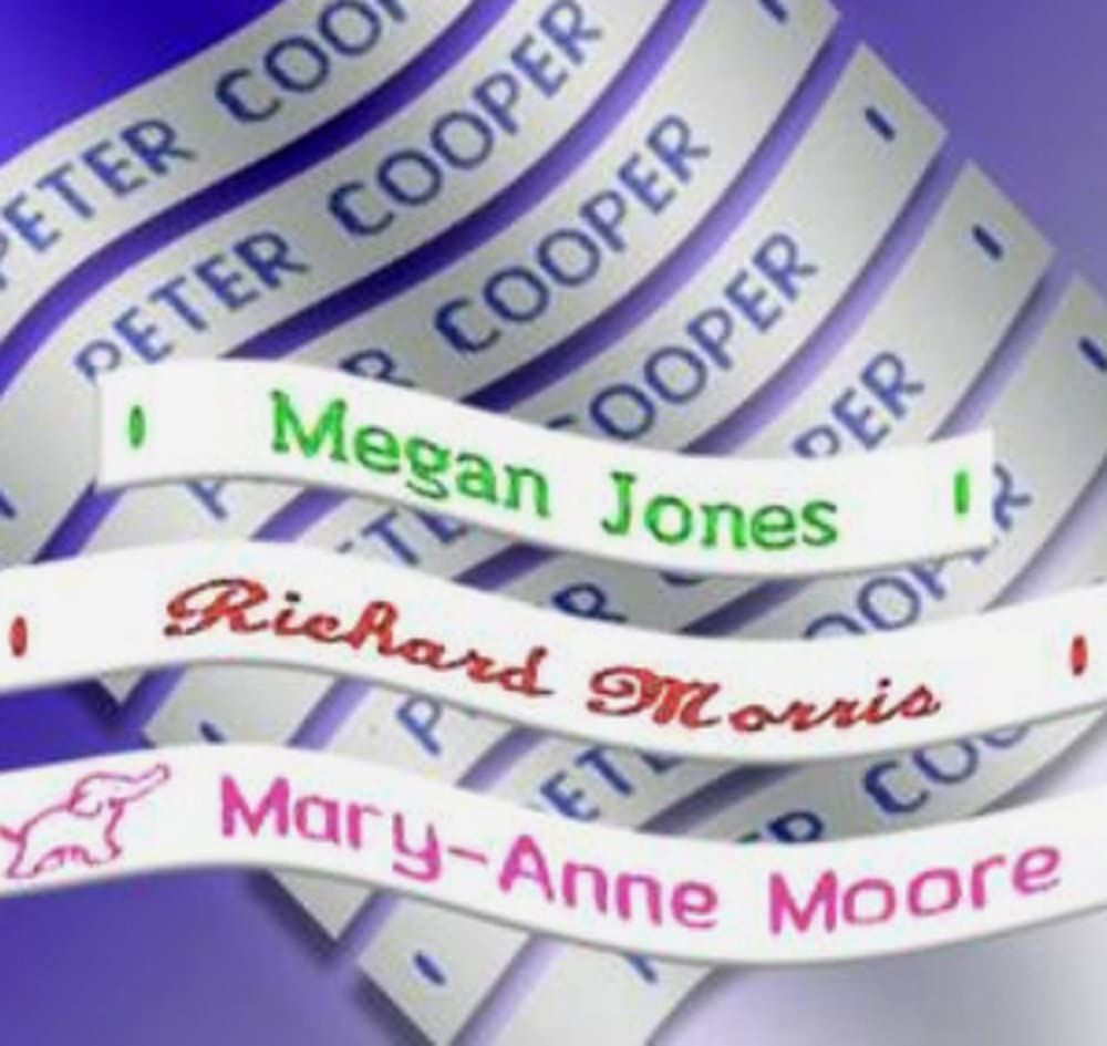 Label Weavers Sew-On Name Tape
