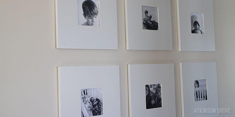 DIY gallery wall hack using $2 MALMA mirrors from IKEA