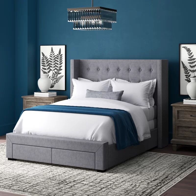 The 8 Best Storage Beds Of 2021, Upholstered Queen Platform Bed With Storage