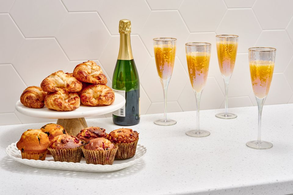 mimosas and pastries