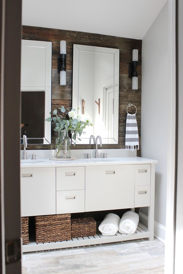 12 Rustic Bathrooms You'll Adore