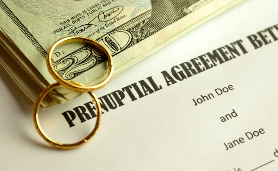 The History Of Prenuptial Agreements