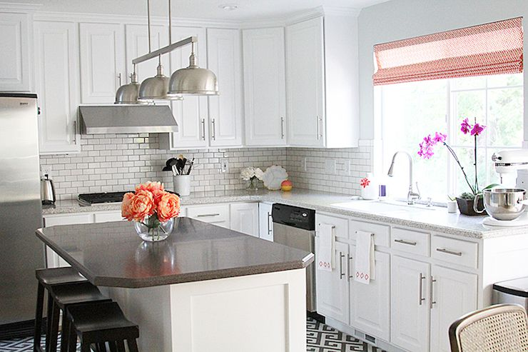 Corian Dupont solid surface countertop in faux granite