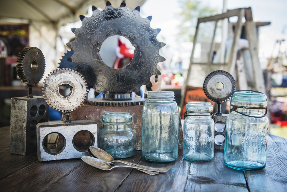 Brimfield flea market
