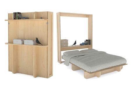 Build A Murphy Bed For Less