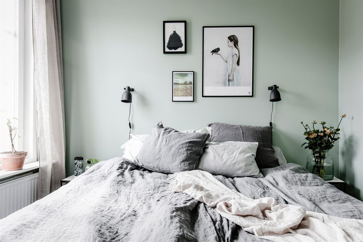 Mint with Black & White accents
