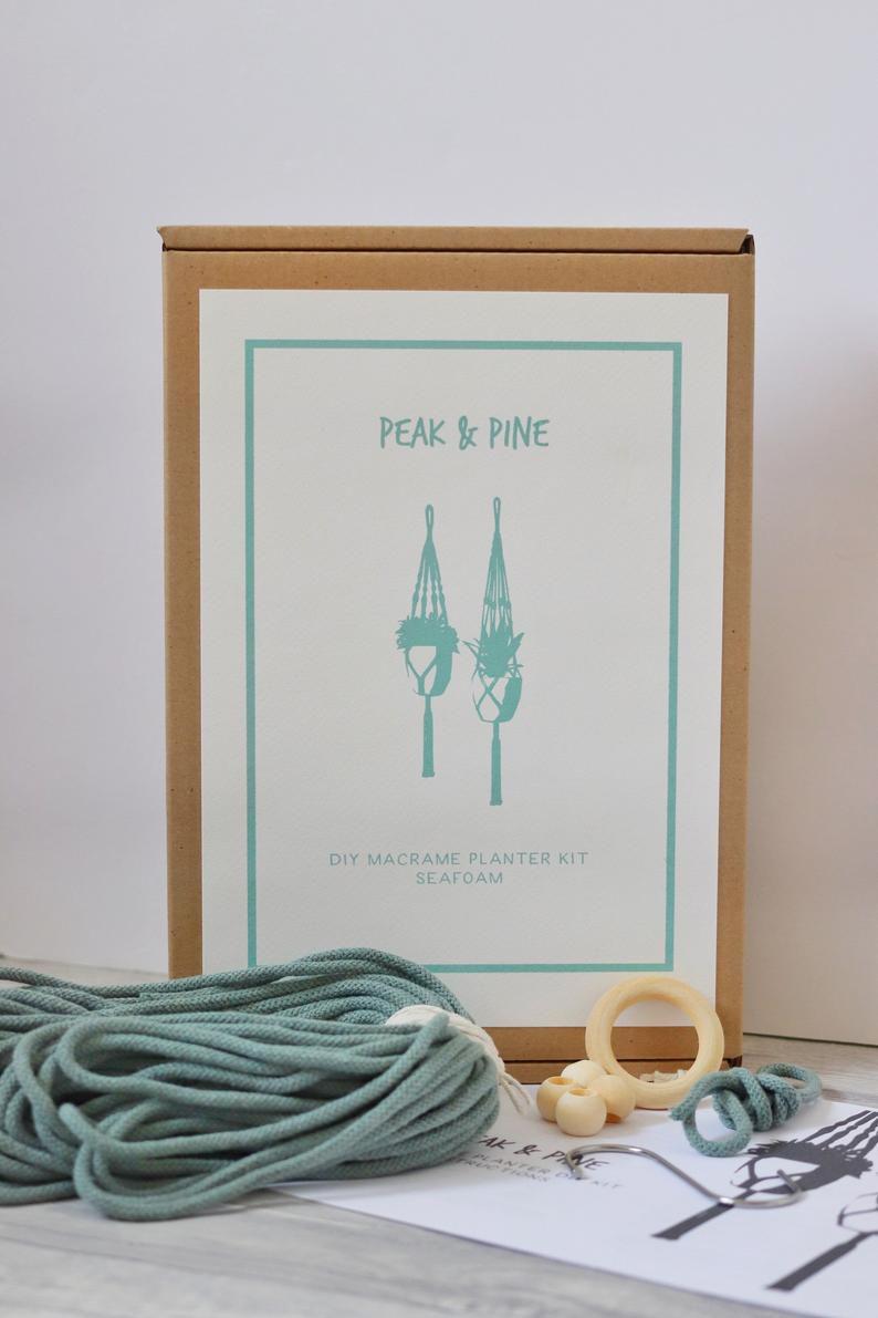 Peak & Pine DIY Macrame Planter Kit
