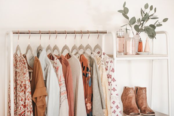 storing clothes without a closet
