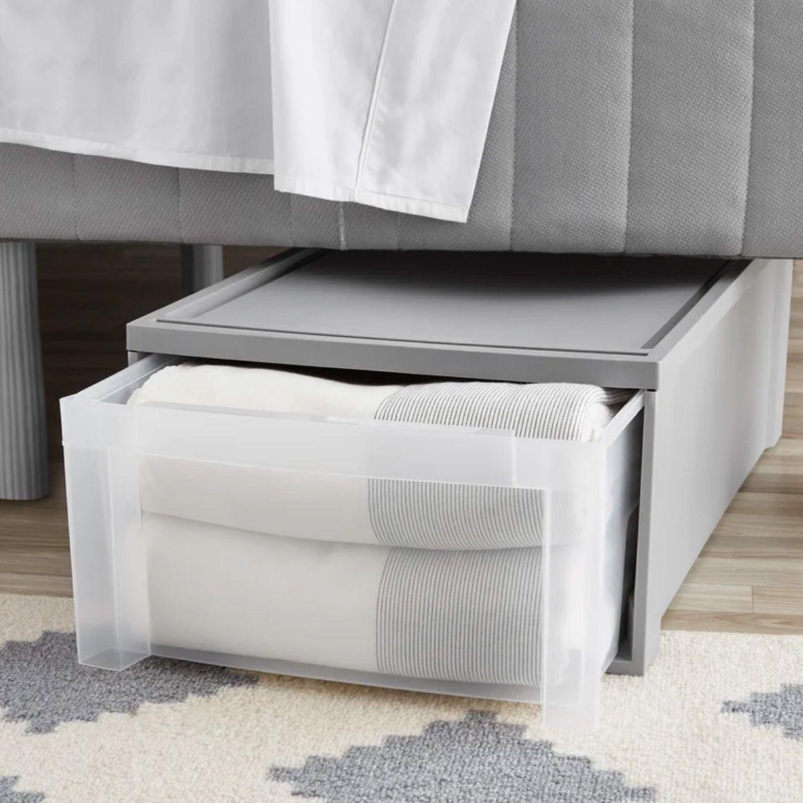 "Shanda Under Bed 17.3"" Stackable Storage Drawer"