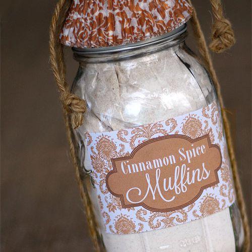 DIY Cinnamon Spice Muffins Kit