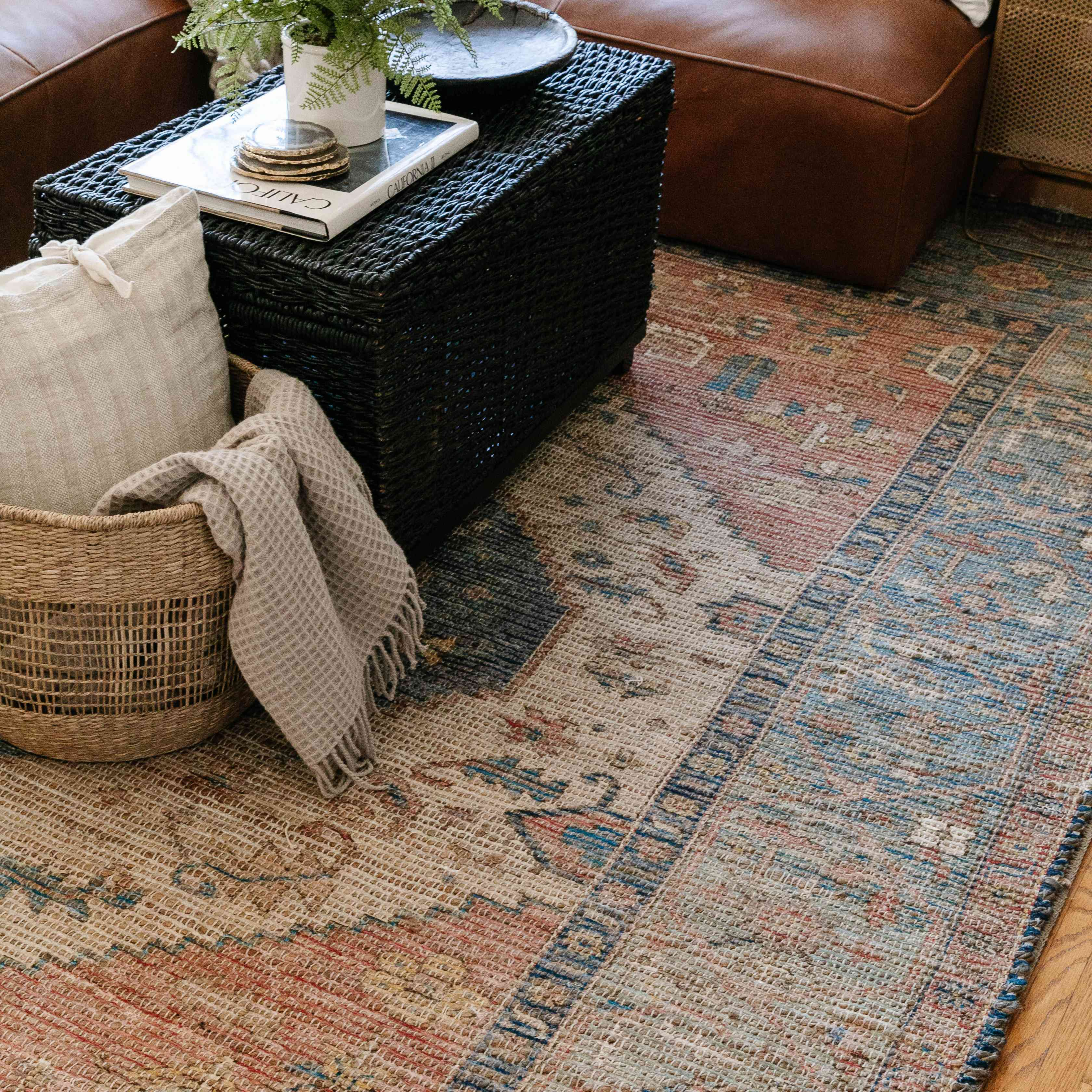 a rug in the home of drew scott, the lone fox