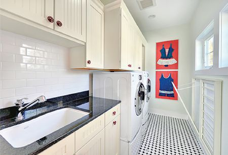 Make The Most Of A Galley Layout Laundry Room