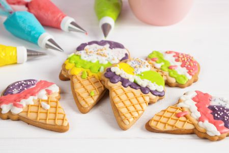throwing a cookie decorating party for kids