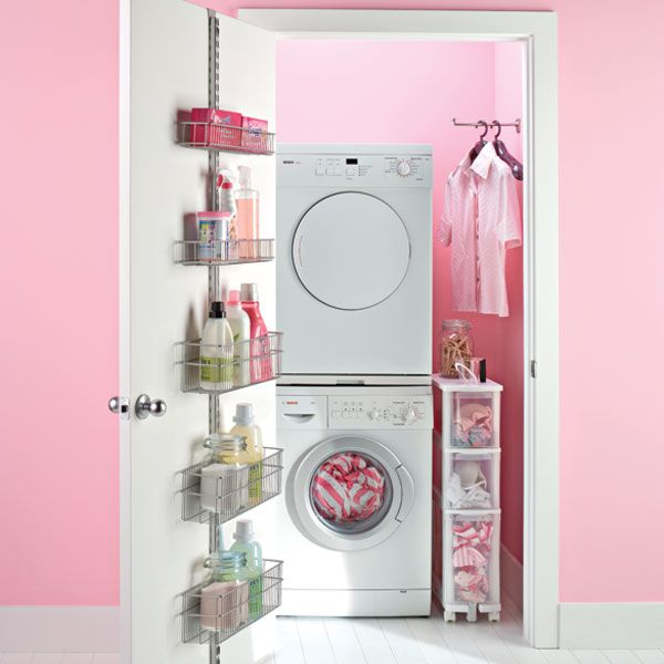 Elfa Laundry Door Rack