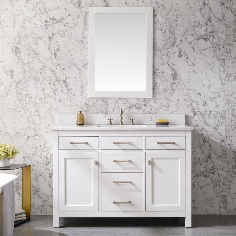 Atencio 48-Inch Single Bathroom Vanity