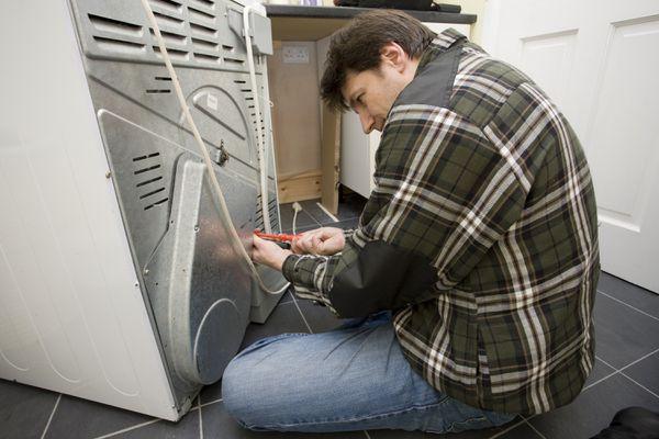 Gas Dryer Installation