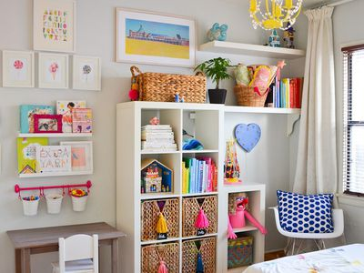 Beautiful storage ideas for kids' rooms