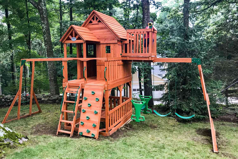 Backyard Discovery Skyfort II Residential Wood Playset