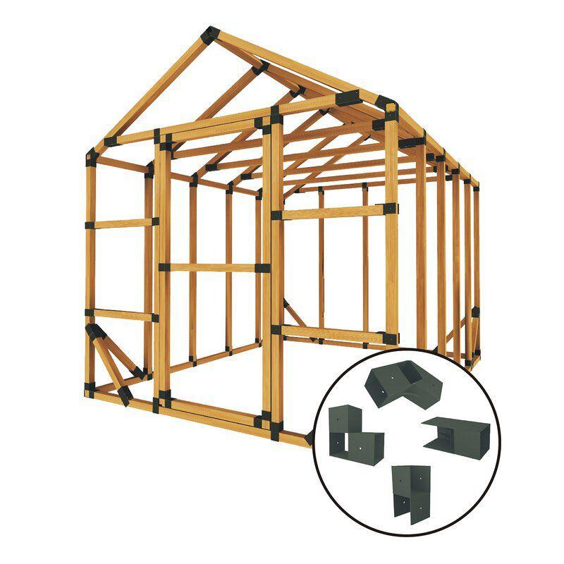 E-Z Frames 8 x 10 ft. Greenhouse Kit