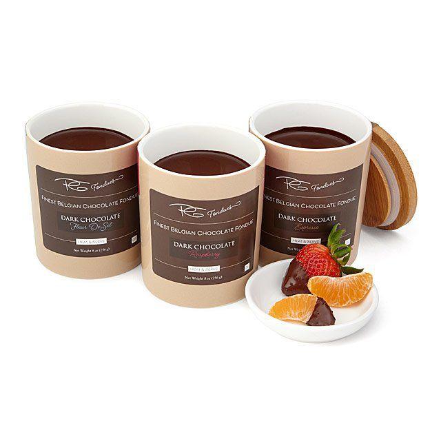 PG Fondues Belgian Chocolate Fondue Pots