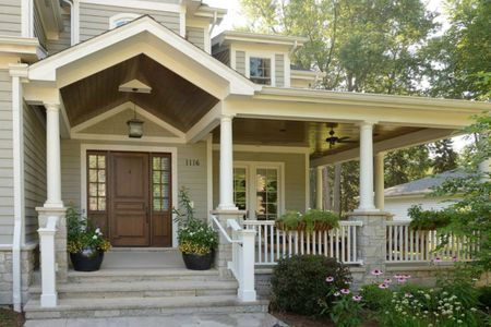 Traditional Front Porch