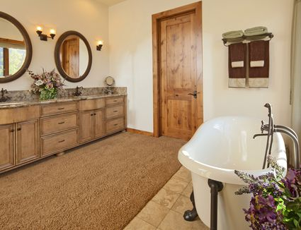 carpet in bathroom how to make it work if you must